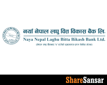 Naya Nepal Laghubitta published an improved Q4 report; EPS and PE stands at Rs 15.90 and 27.67 times